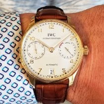 IWC Portuguese Automatic Rose gold 42mm White Arabic numerals United States of America, Illinois, Plainfield