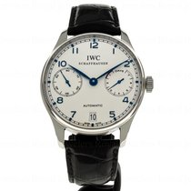 IWC IW500107 Steel 2007 Portuguese Automatic 42mm pre-owned United States of America, Massachusetts, Andover