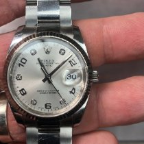 Rolex Oyster Perpetual Date new 2015 Automatic Watch with original box 115234