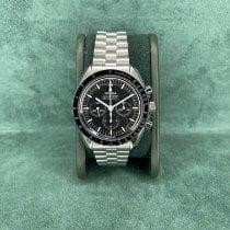 Omega Steel Manual winding Black No numerals 42mm new Speedmaster Professional Moonwatch