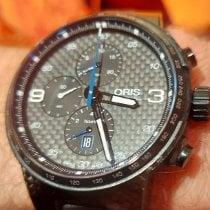 Oris Carbon Automatic Black Arabic numerals pre-owned Williams F1
