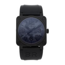 Bell & Ross BR 03 BR0392-CAMO-CE/SRB Very good Ceramic 42mm Automatic