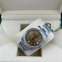 Rolex Oyster Perpetual 36 Steel 36mm Bronze Arabic numerals UAE, Abu Dhabi