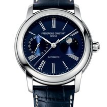 Frederique Constant Classics Moonphase new Automatic Watch with original box and original papers FC-712MN4H6