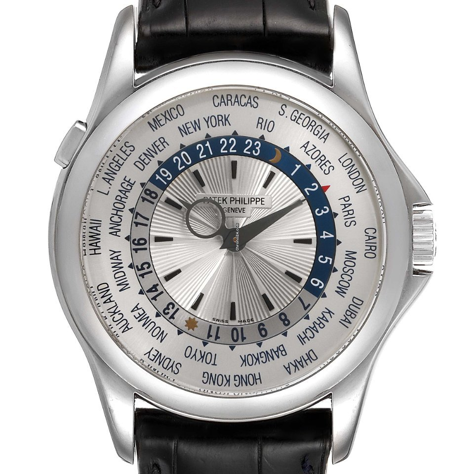 Patek Philippe World Time 5130G-019 2010 pre-owned