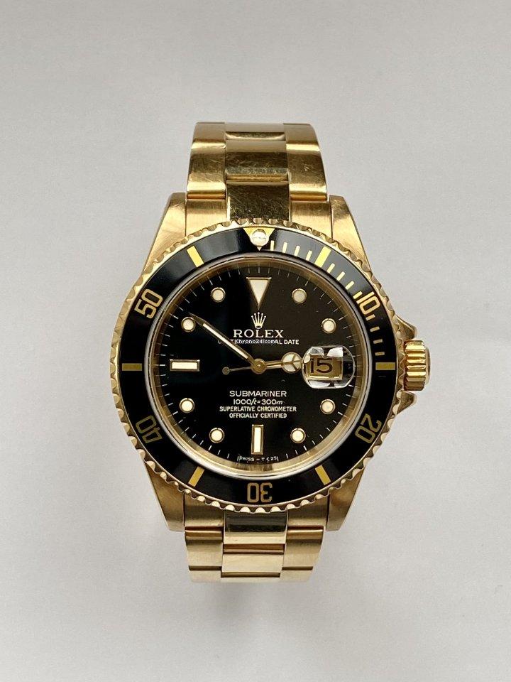 Rolex Submariner Date 16618 1993 подержанные