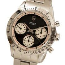 Rolex Daytona Steel 36mm Black No numerals