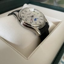 Frederique Constant Runabout Moonphase Steel 42mm Silver