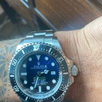 Rolex Sea-Dweller Deepsea Steel 44mm Blue No numerals UAE, 0