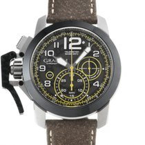 Graham Chronofighter Oversize 2CCAC.B16A Very good Steel 47mm Automatic