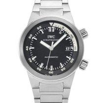 IWC Aquatimer Automatic gebraucht 42mm Schwarz Stahl