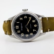 Montblanc 1858 Steel 40mm Black Arabic numerals