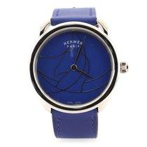 Hermès Arceau Steel 36mm Blue United States of America, New York, New York