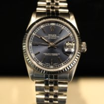 Rolex Lady-Datejust Steel 31mm Blue No numerals
