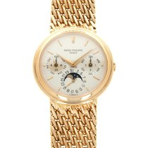 Patek Philippe 3945 Yellow gold 1987 Perpetual Calendar 36mm pre-owned United States of America, California, Beverly Hills