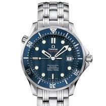 Omega Seamaster Diver 300 M Stahl 41mm Blau Keine Ziffern Schweiz, Nyon