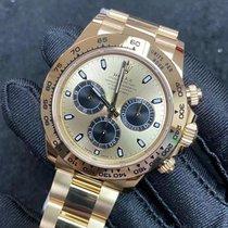 Rolex Daytona 116508 Ungetragen Gelbgold 40mm Automatik