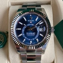 Rolex Sky-Dweller Steel 42mm Blue No numerals United States of America, Pennsylvania, Douglassville