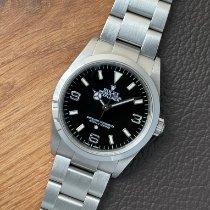 Rolex Explorer Staal 36mm Zwart Arabisch Nederland, Amsterdam