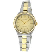 Rolex 1002 Gold/Steel Oyster Perpetual 34 34mm pre-owned United States of America, New York, New York