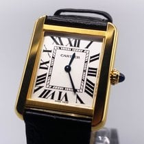 Cartier Tank Solo Yellow gold 31mm Silver Roman numerals United States of America, Arizona, Glendale