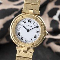 Cartier Santos (submodel) 8191 Meget god Gult guld 27mm Kvarts