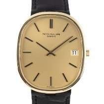 Patek Philippe Golden Ellipse Gulguld 38mm Guld