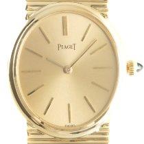 Piaget 9822G1 Very good Yellow gold 27mm Manual winding