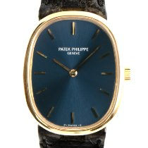 Patek Philippe Golden Ellipse Yellow gold 28mm Blue