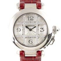 Cartier Damenuhr Pasha 32mm Automatik gebraucht Nur Uhr 2005