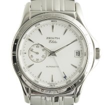 Zenith Steel Automatic White 38mm pre-owned Elite
