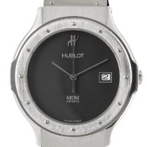Hublot Steel 36.5mm Quartz 1521.100.1 pre-owned
