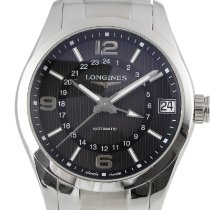 Longines Conquest Classic Steel 42mm Black