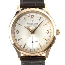 Jaeger-LeCoultre Yellow gold Automatic Silver 37mm pre-owned Master Calendar