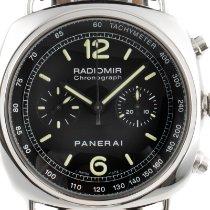 Panerai Radiomir Chronograph Steel 45mm Black