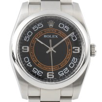 Rolex Oyster Perpetual 36 pre-owned 36mm Black Date Steel