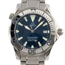 Omega Seamaster Diver 300 M Staal 36mm Blauw