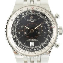 Breitling Montbrillant Légende Steel 46.5mm Black