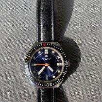 Junghans pre-owned Manual winding 37mm Blue Plexiglass