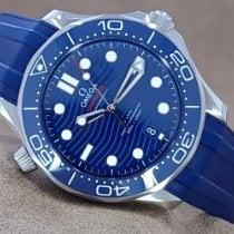 Omega Seamaster Diver 300 M ny 2021 Automatisk Klocka med originallåda och originalhandlingar 21032422003001