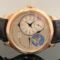 F.P.Journe Rose gold Automatic Grey Arabic numerals 40mm new Octa