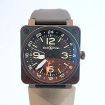 Bell & Ross BR 01-93 GMT Staal 46mm Zwart