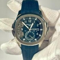 Patek Philippe White gold Automatic Blue Arabic numerals 40.8mm new Aquanaut
