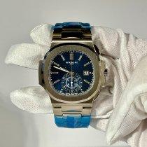Patek Philippe Nautilus White gold 44mm Blue No numerals United States of America, Florida, Miami