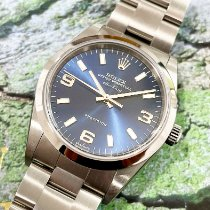 Rolex new Automatic Central seconds Screw-Down Crown 34mm Steel Sapphire crystal
