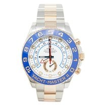 Rolex Yacht-Master II pre-owned 44mm White Gold/Steel