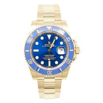 Rolex Submariner Date Yellow gold 40mm Blue No numerals United States of America, California, Los Angeles