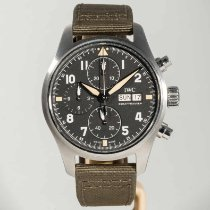 IWC Pilot Spitfire Chronograph Steel 41mm Black Arabic numerals United States of America, Massachusetts, Boston