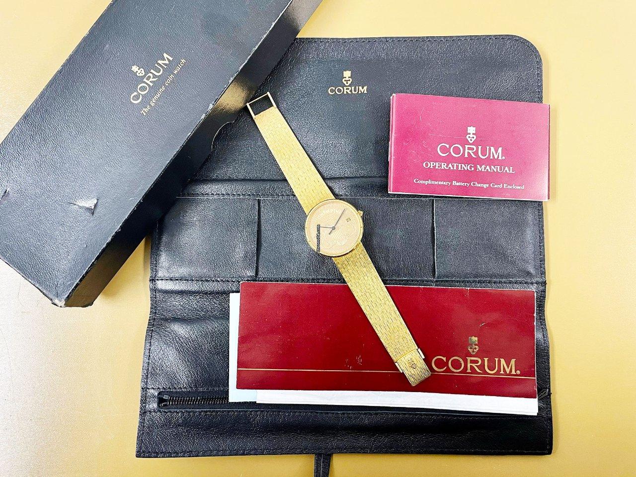 Corum Coin Watch 293.645.56/0001 MU51 1986 pre-owned