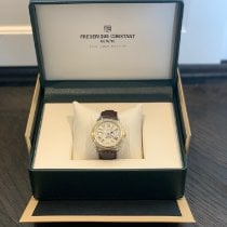 Frederique Constant Classics Business Timer Gold/Steel 40mm Champagne